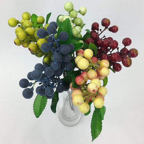 Artificial Berry Spray