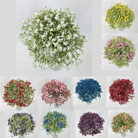 Gypsophila Baby's Breath Flowers Wedding Bouquet/15 stems