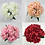 Thumbnail: 7 Heads Artificial Silk Carnation Flowers