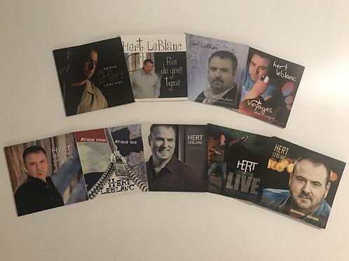 Collection entière d'albums de Hert