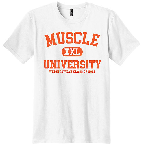 MUSCLE UNIVERSITY Stretch Tee