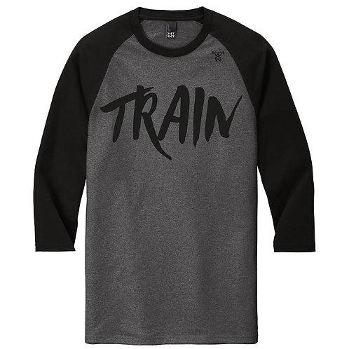 TRAIN Stretch 3/4-Sleeve Raglan