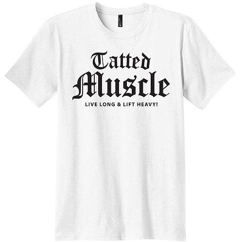 TATTED MUSCLE_LIVE LONG Stretch Tee