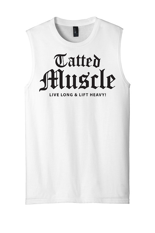 TATTED MUSCLE-LIVE LONG Muscle Tank