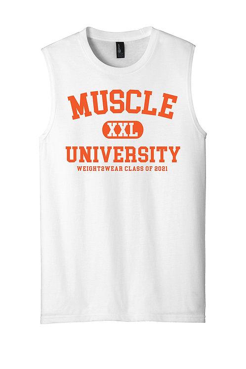 MUSCLE UNIV. ORANGE Muscle Tank