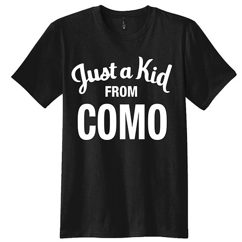 JUST A KID FROM COMO Unisex Tee