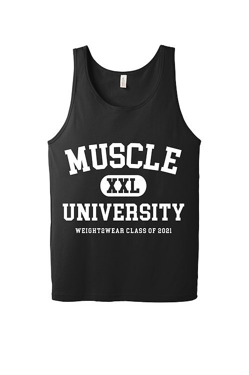 MUSCLE UNIVERSITY Tank Top