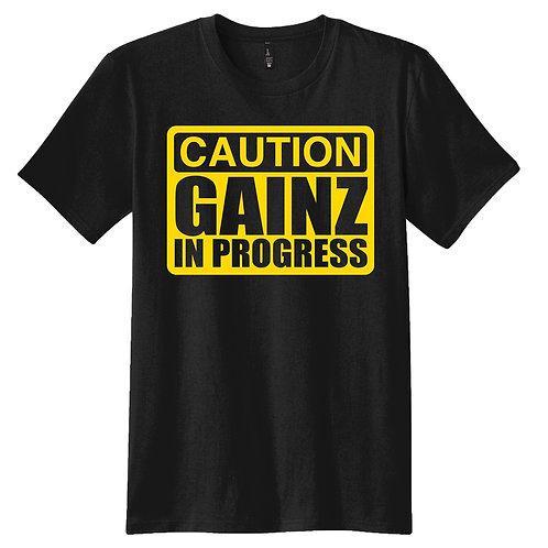 CAUTION GAINZ IN PROGRESS