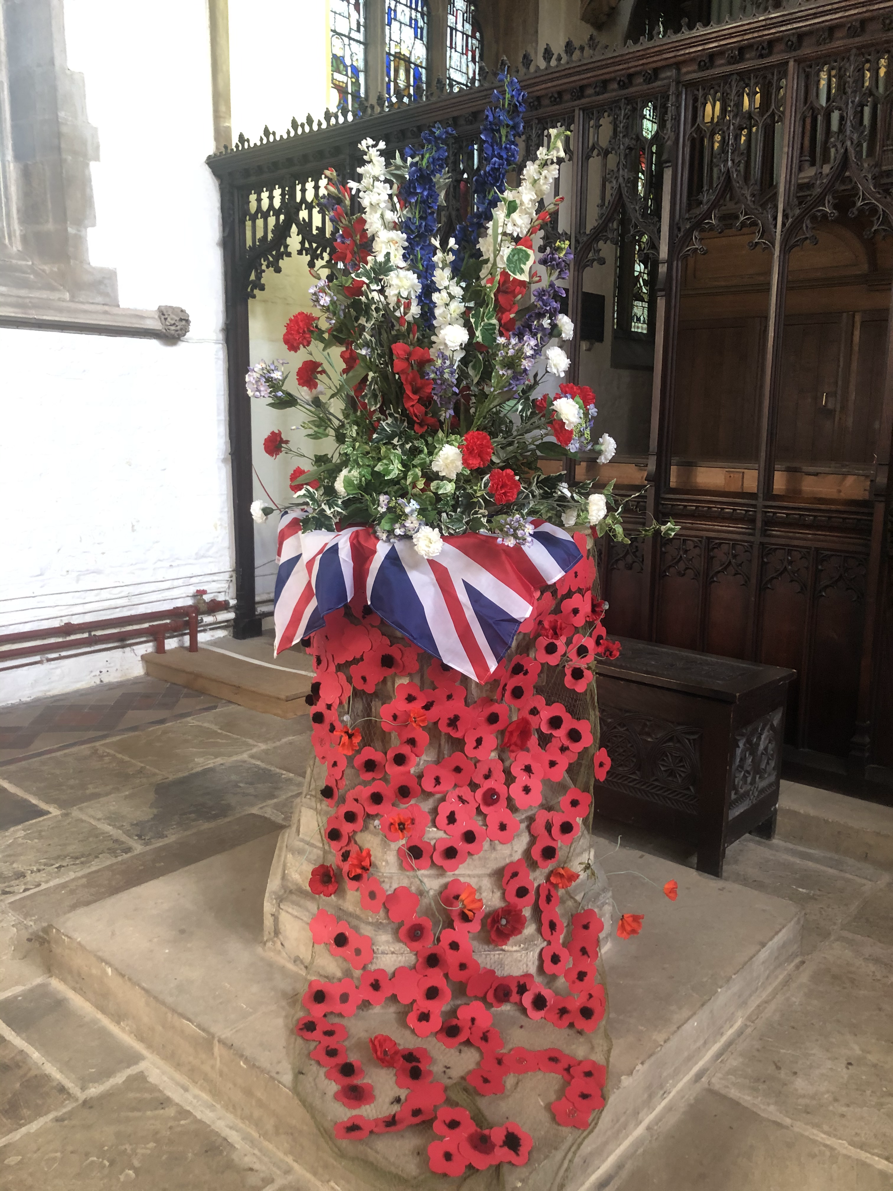 church remembrance display 2020.HEIC