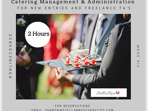 Catering Management & Administration Course
