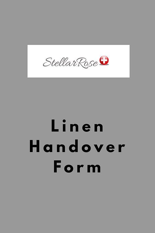 Linen Handover