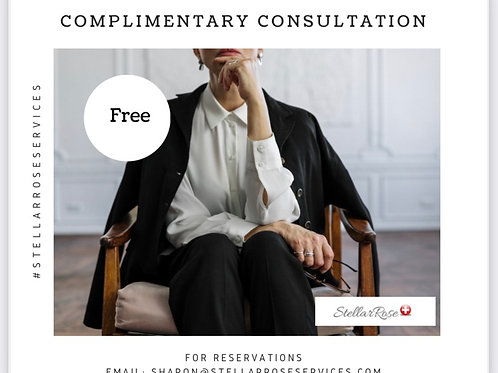 Complimentary Consultation | 15 minutes