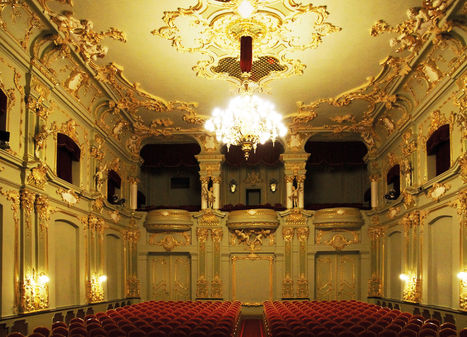 Teatr Zdrojowy w Sczawnie-Zdrój / Theatr Szczawno-Zdrój / Theater Bad Salzbrunn)