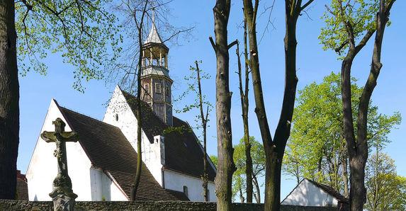 Kościół Św. Anny Grodziszcze / St. Anne Church Grodziszcze / Kirche St. Annen in Gräditz