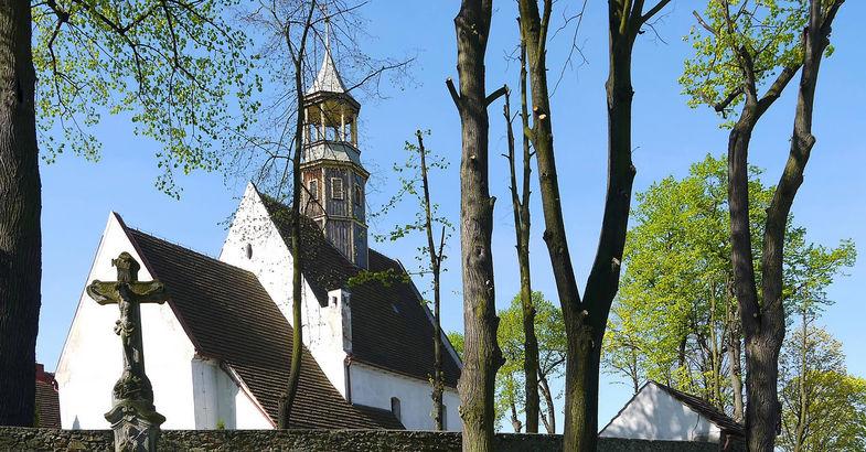 Kościół Św. Anny Grodziszcze / St. Anne Church Grodziszcze / Kirche St. Annen in Graeditz