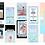 Thumbnail: 8 Instagram Story Templates & 4 Bonus Background PNG Files - Hologram Theme