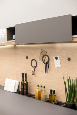 MAGNETIC WOODEN PANEL