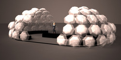 Contemporary Istanbul Fair Design Concept / Outdoor Lounge
