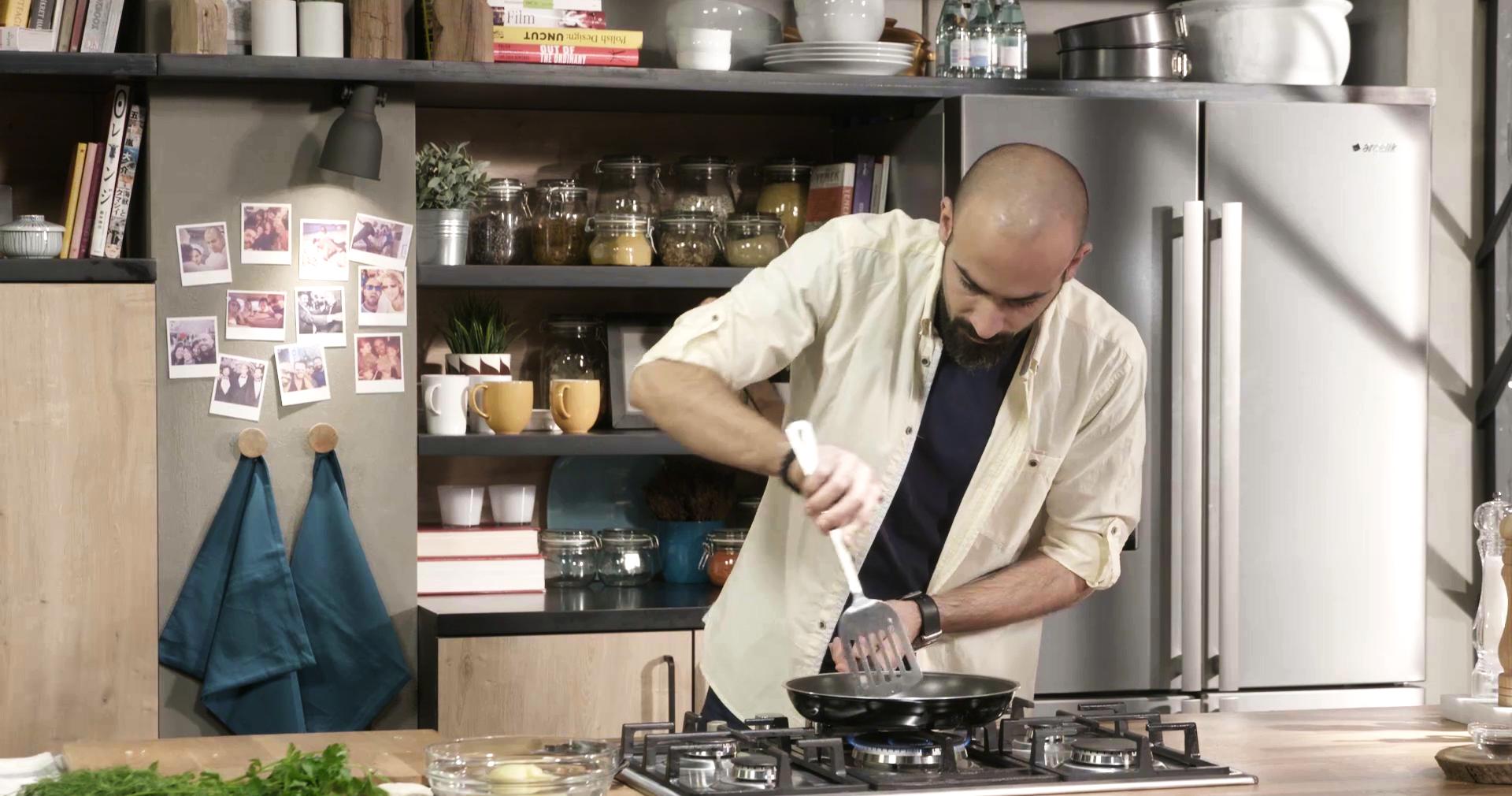 Fox Tv- Gabriele Sponza Kitchen