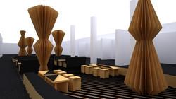 Contemporary Istanbul Fair Design Concept / Cardboard Lounge