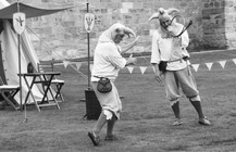 Jesters at Alnwick Castle: 1 of 2