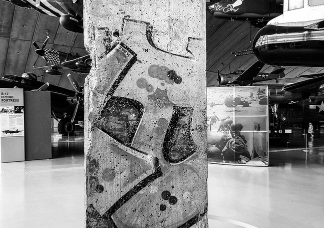 Section of the Berlin Wall
