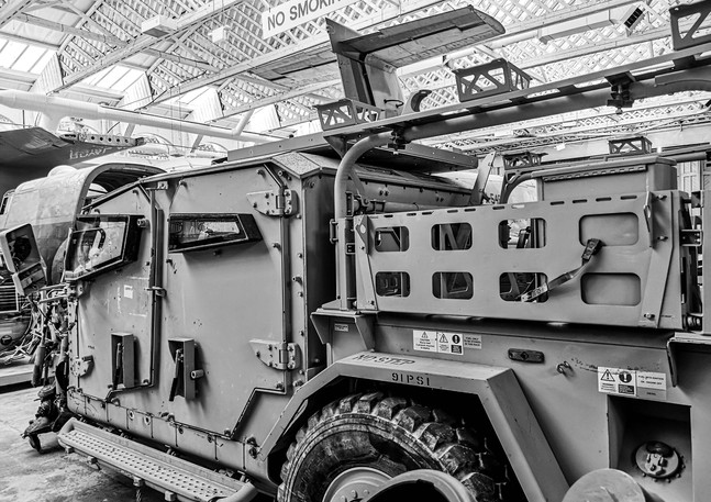 Protected Support Vehicle: 1 of 5