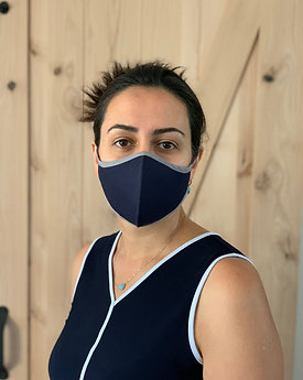 Cloth Face Mask with Strap tie
