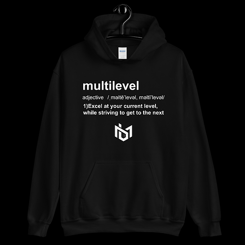 "Multilevel Defined ""Hoodie"""