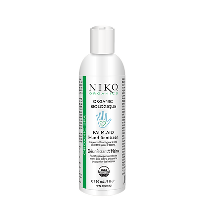 NIKO ORGANIC SPA PALM-AID HAND SANITIZER