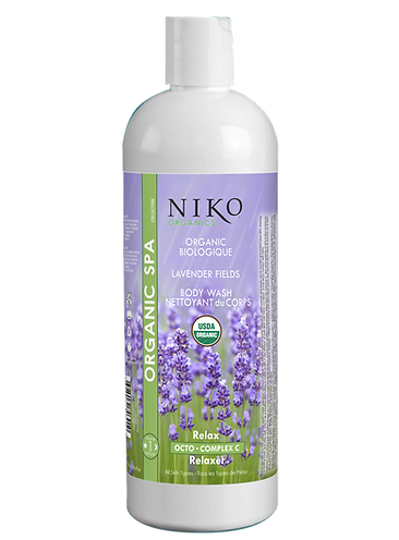 NIKO ORGANIC LAVENDER FIELDS BODY WASH