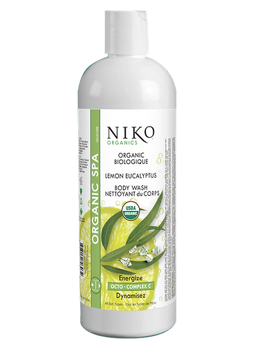 NIKO ORGANIC LEMON EUCALYPTUS BODY WASH