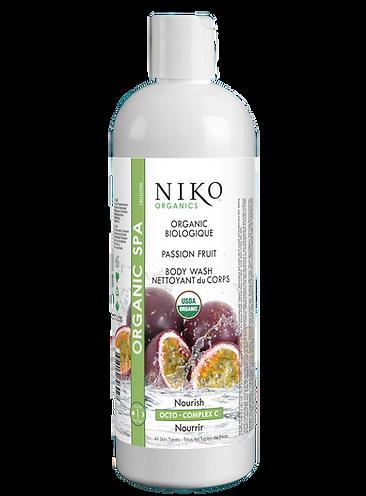 NIKO ORGANIC PASSION FRUIT BODY WASH