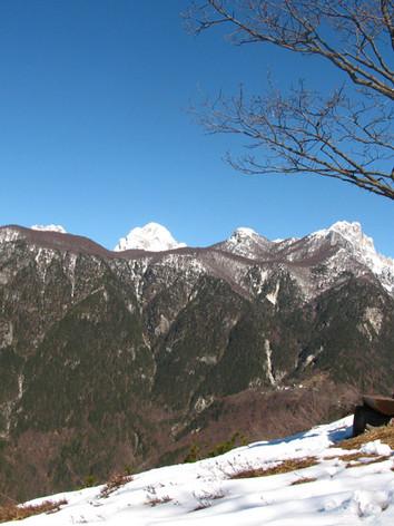 "Panorama dal ""Balcon di Provezi"""