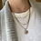Thumbnail: 3 diamond necklace