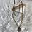 Thumbnail: Vintage Repurposed Mixed Metal padlock necklace