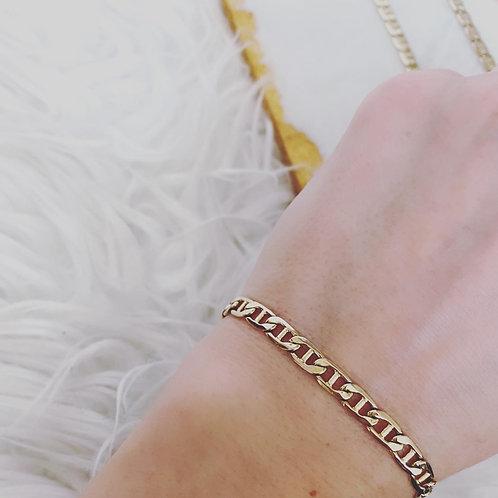 Vintage Gold Conversion Link Bracelet