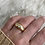 Thumbnail: 3 Stone Diamond Gypsy set ring