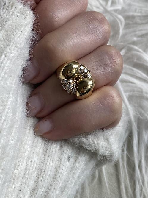 Conversion Spinning Diamond Wheel Ring