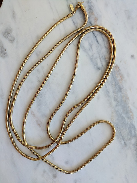 Monet Gold Snake Chain Wyshcollective