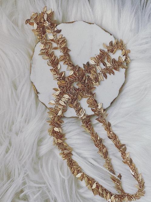 Falling Leaf necklace
