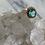 Thumbnail: Emerald and Diamond Halo Ring