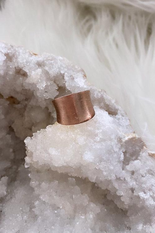 Vintage Rose Gold Vermeil Ring