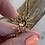 Thumbnail: Vintage diamond and pearl sunburst pendant necklace