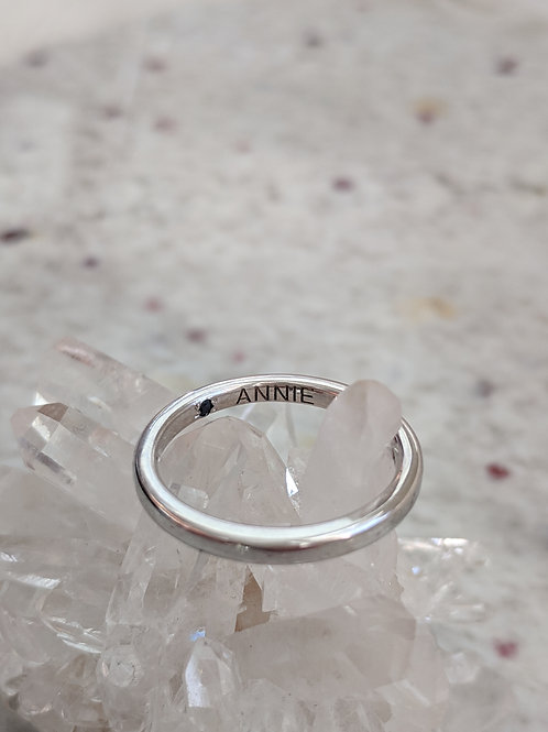 Hidden Birthstone Ring