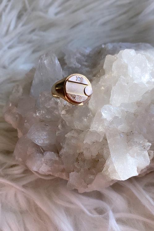 Vintage Birks Signet Ring
