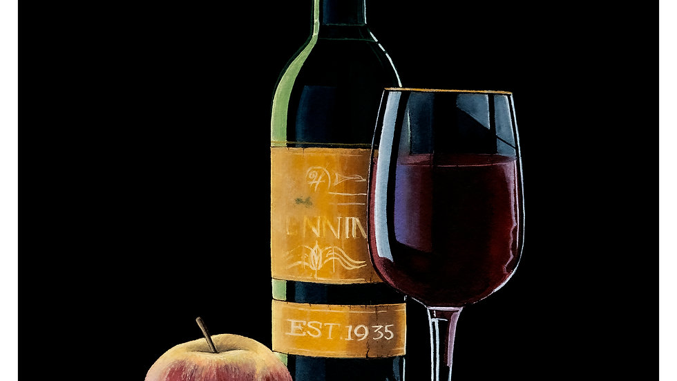 Henning wine 9x12