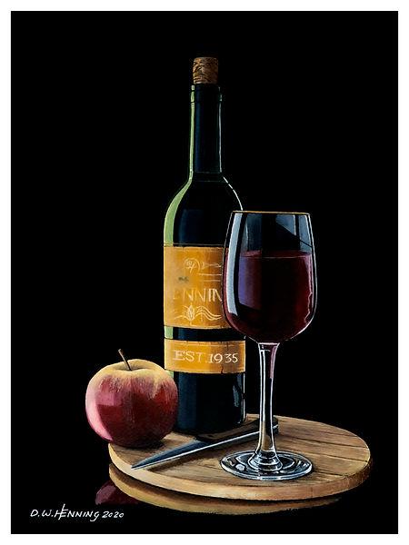 wine apple glass 9x12.jpg