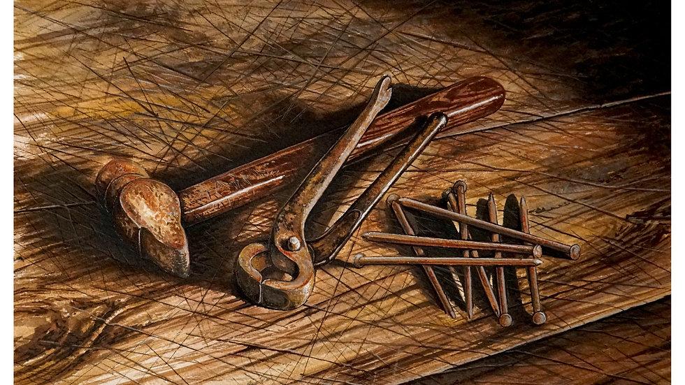 shoeing hammer 9x12