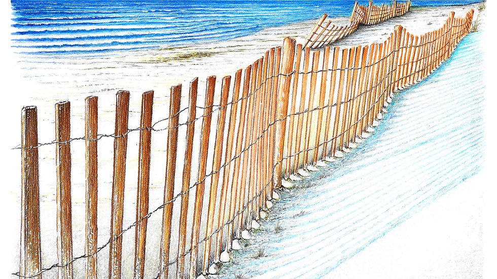 ocean fence